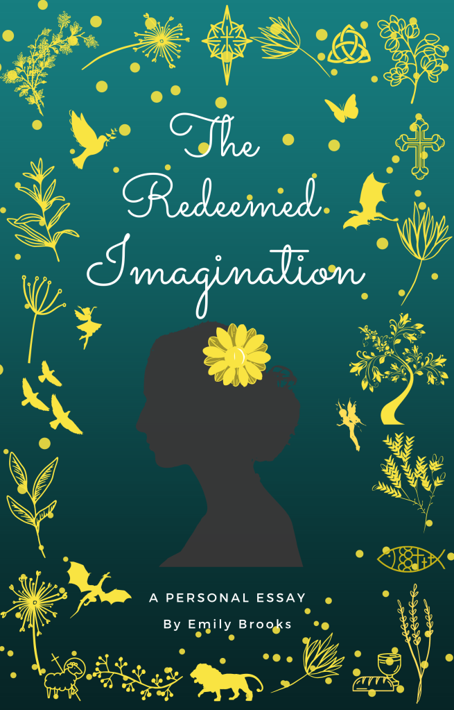 Cover of The Redeemed Imagination: A Personal Essay by Emily Brooks